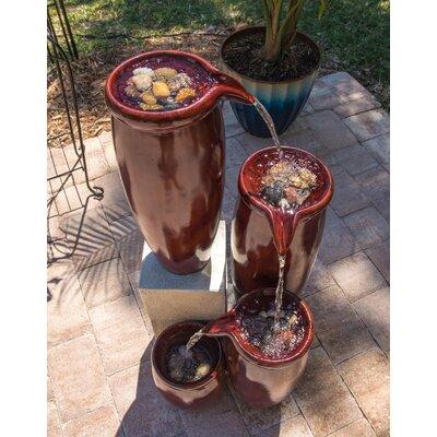 Resin Urn Indoor/Outdoor Floor Fountain