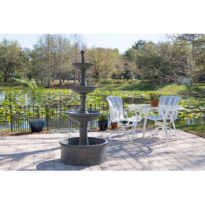 Dania Resin Outdoor Floor Fountain