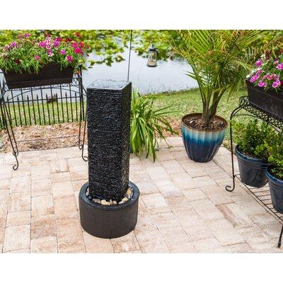 Concrete Origin Outdoor Floor Fountain