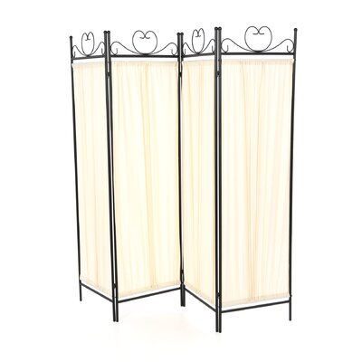 Port Angeles Butterfly 4 Panel Room Divider