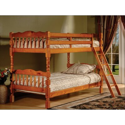 Alexandro Twin over Twin Bunk Bed Color: Oak