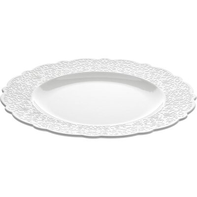 """Alessi Dressed 10.75"""" Dining Plate"""