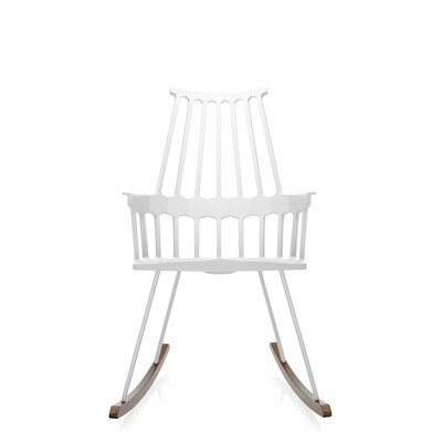 Comeback Rocking Chair Frame Color: White