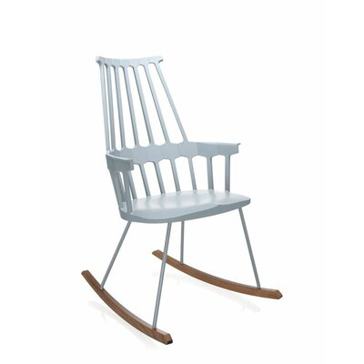 Comeback Rocking Chair Frame Color: Grey Blue