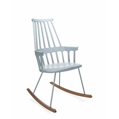 Comeback Rocking Chair Frame Color: Grey Blue