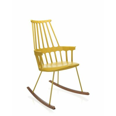Comeback Rocking Chair Frame Color: Yellow