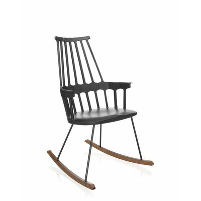 Comeback Rocking Chair Frame Color: Black