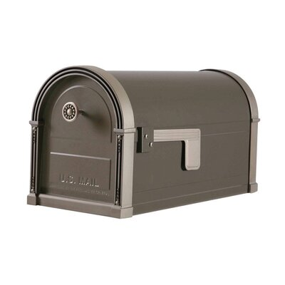 Post Mounted Mailbox Color: Bronze