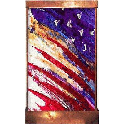 Galaxy Acrylic/Metal Flag Fountain