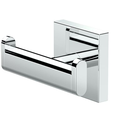 Elevate Double Robe Wall Hook Finish: Chrome