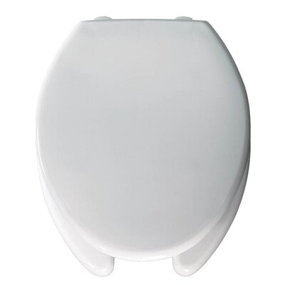 Medical Assistance Plastic Elongated Toilet Seat