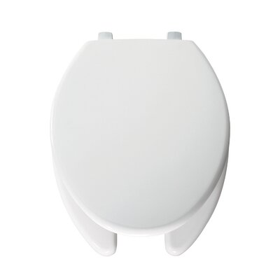Commercial Elongated Toilet Seat Hinge Type: Check Hinge