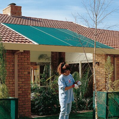 70% UV Block Cloth Outdoor Solar Shade Color: Forest Green