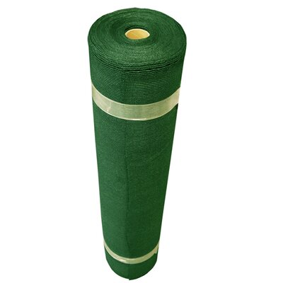 Block Shade Cloth Roll Size: 12' H x 50' W, Finish: Heritage Green