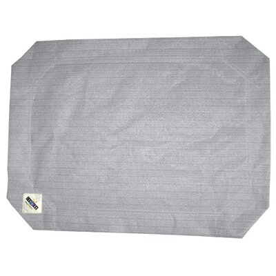 "Replacement Cover Size: Medium (0.3"" H x 26"" W x 35"" L), Color: Gray"