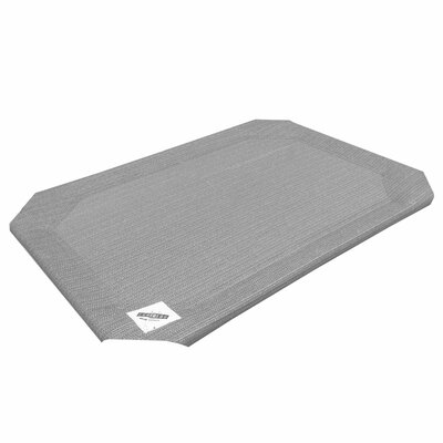 "Replacement Cover Size: Small (0.3"" H x 22"" W x 28"" L), Color: Gray"