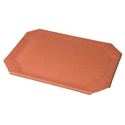 Replacement Pet Bed Covers for Elevated Pet Bed Size: Large, Color: Terracotta