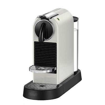 DeLonghi Nespresso Citiz Single-Serve Espresso Machine Finish: White