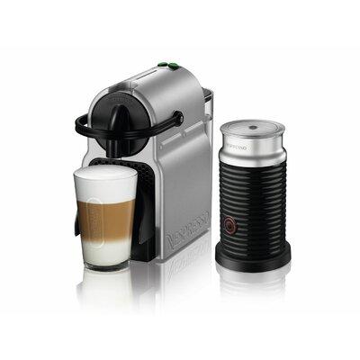 DeLonghi Nespresso Inissia Single-Serve Espresso Machine with Aeroccino Milk Frother