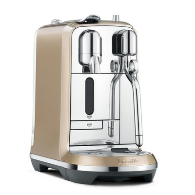 BrevilleNespresso Creatista Pod Espresso Machine Color: Champagne