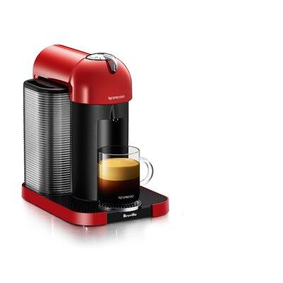 Breville Nespresso VertuoPlus Pod Espresso Machine Color: Red
