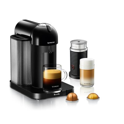BrevilleNespresso VertuoPlus Bundle Pod Espresso Machine Color: Black