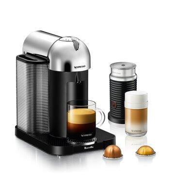 BrevilleNespresso VertuoPlus Bundle Pod Espresso Machine Color: Chrome