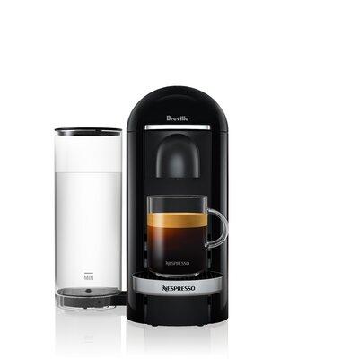 Breville Nespresso VertuoPlus Deluxe Pod Espresso Machine Color: Black
