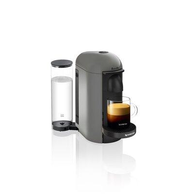 Breville Nespresso VertuoPlus Pod Espresso Machine Color: Gray