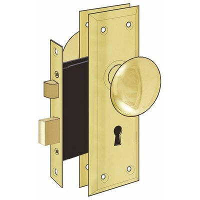 Ultra hardware old time keyed door knob reviews wayfair - Standard interior door replacement key ...