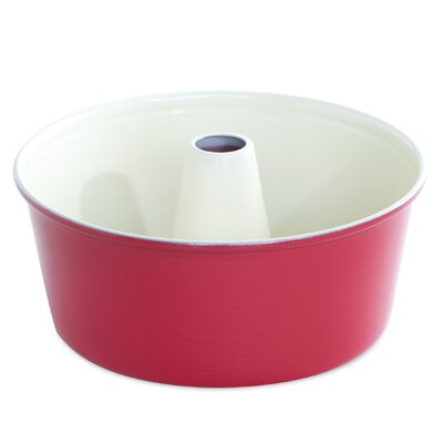 12 Cup Angel Food Cake Pan Color: Red
