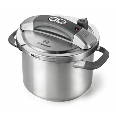 Stainless Steel 6-Quart Pressure Cooker