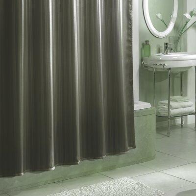 Darmstadt Damask Stripe Shower Curtain Liner Color: Grey