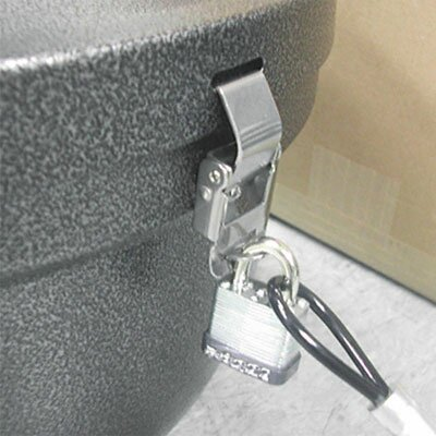 Ex-Cell Smokers' Oasis Lock Kit, 48In Plastic-Coated Steel Cable with Lock/Key