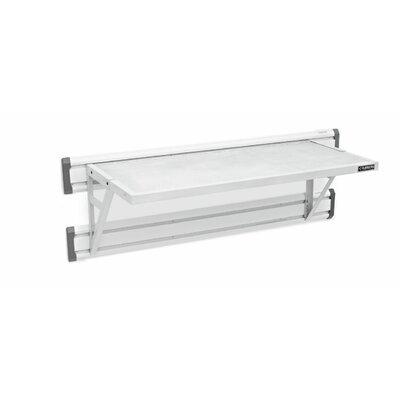 Premier Series GearLoft Steel Garage Shelf in Hammered White