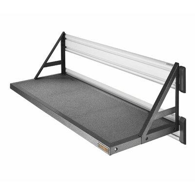 Premier Series GearLoft Steel Garage Shelf in Hammered Granite