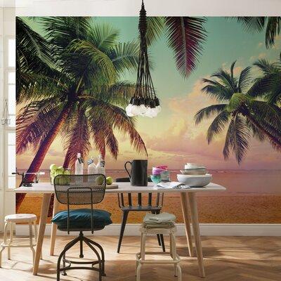 Komar Miami 2.54m L x 368cm W Roll Wallpaper