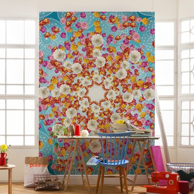 Komar Happiness 2.54m L x 184cm W Roll Wallpaper