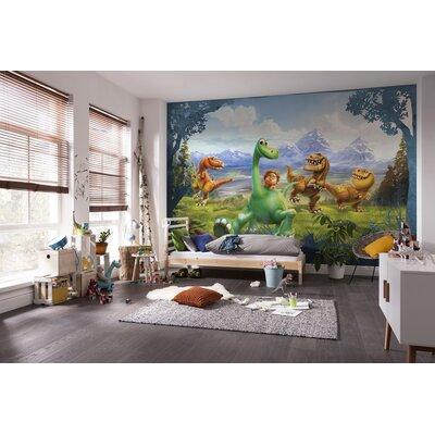 Komar The Good Dinosaur 2.54m L x 368cm W 4 Pieces Roll Wallpaper