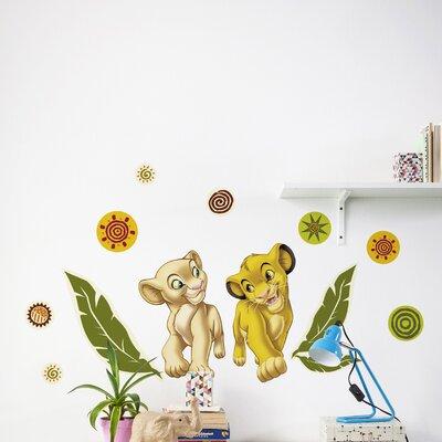 Komar Simba and Nala Wall Sticker