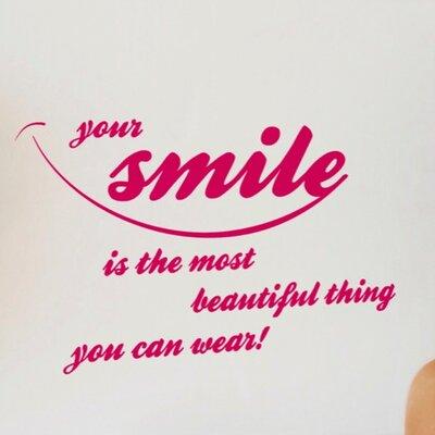 Komar Your Smile Wall Sticker