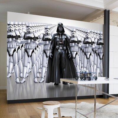 Komar Star Wars Imperial Force 2.54m L x 368cm W 4 Pieces Roll Wallpaper