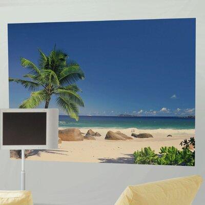 Komar Seychellen 4 Piece Seychelles Scenic Wall Mural Set