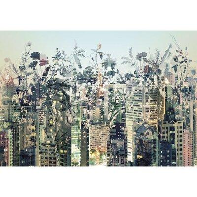 Komar Urban Jungle 2.54m L x 368cm W Roll Wallpaper