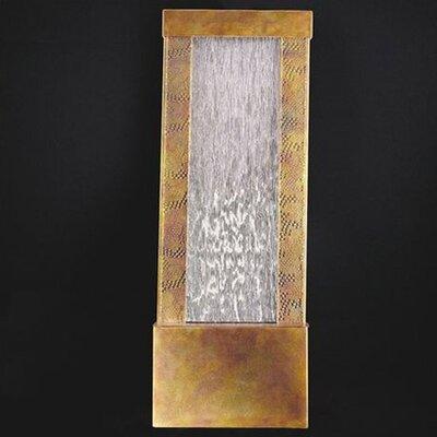 Metal/Glass Shi-Sheh Fountain Finish: Copper- Flame