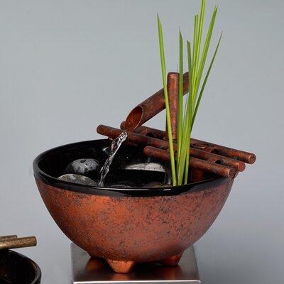 Ceramic Nature Bowl Finish: Antique Copper Patina