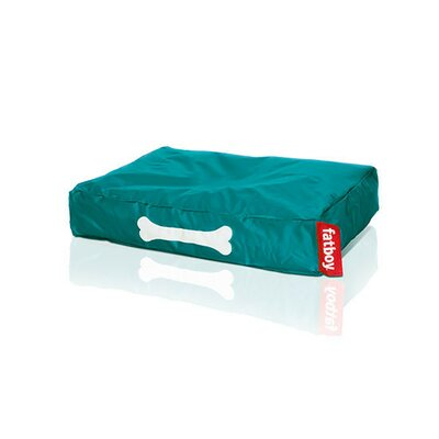 """Doggielounge Pet Bed Pillow Color: Turquoise, Size: Small (32"""" W x 24"""" D)"""