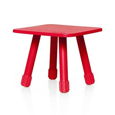 Tablitski Stool Color: Red