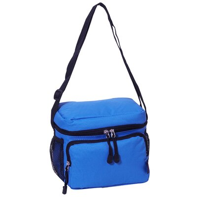 6 Can Insulated Bag Cooler Color: Royal Blue
