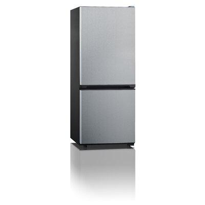 10.2 cu. ft. Bottom Freezer Refrigerator Finish: Silver